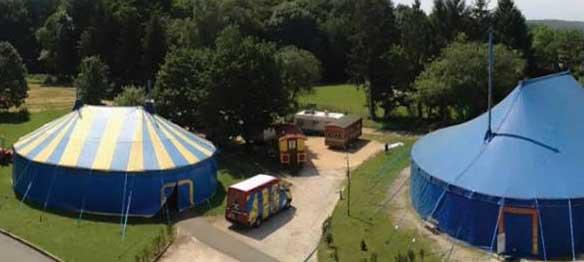 Table ouverte à l'Odyssée du cirque