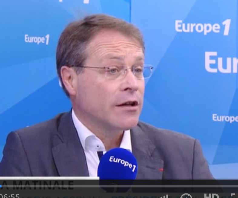 François Asselin sur Europe 1 à propos du projet de loi Travail