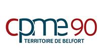Logo de la CPME 90 Territoire de Belfort