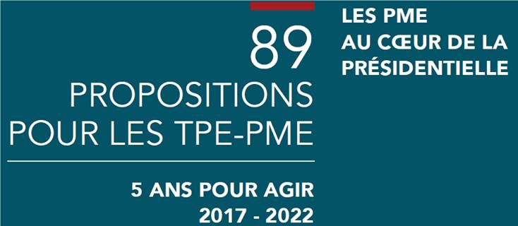 89 propositions pour les TPE-PME