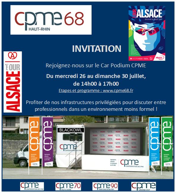 Tour Alsace 2017 CPME